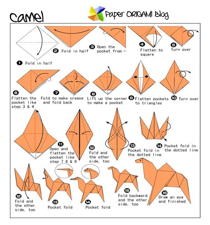 Make Your Own Origami Fish | Origami diagrams, Origami fish ... | 720x672