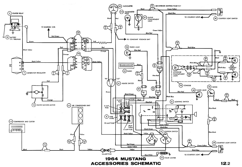66 Mustang Engine Diagram