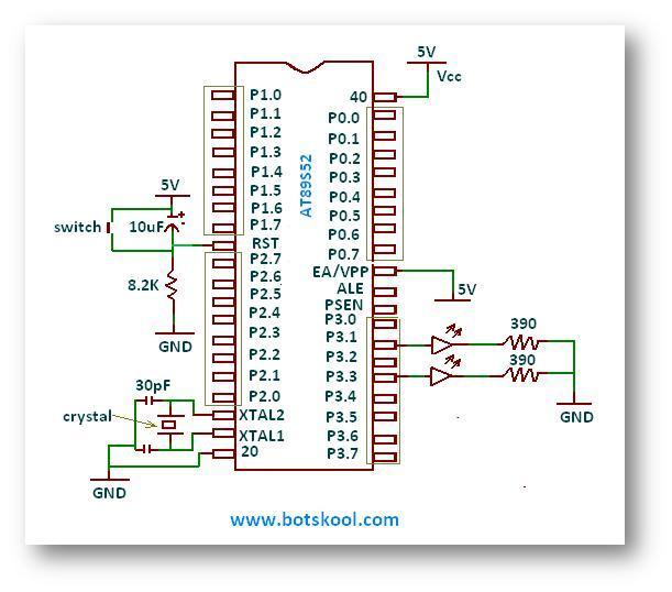 8051 pin diagram microcontroller yl 3295  blinking led using 8051 electronic circuits and diagram 8051 microcontroller pin diagram and explanation ppt blinking led using 8051 electronic