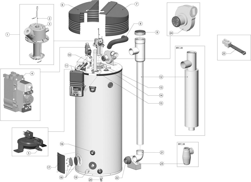 Sh 6156  Hot Water Heater Internal Diagram Free Diagram