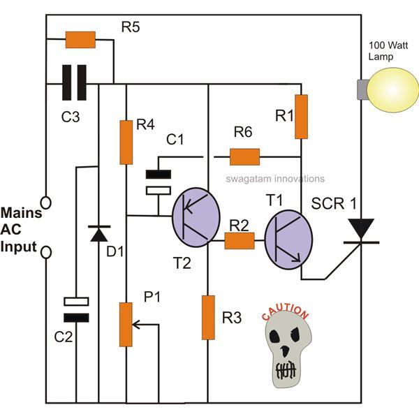 Magnificent How To Make Simple Scr Circuits Wiring Cloud Histehirlexornumapkesianilluminateatxorg