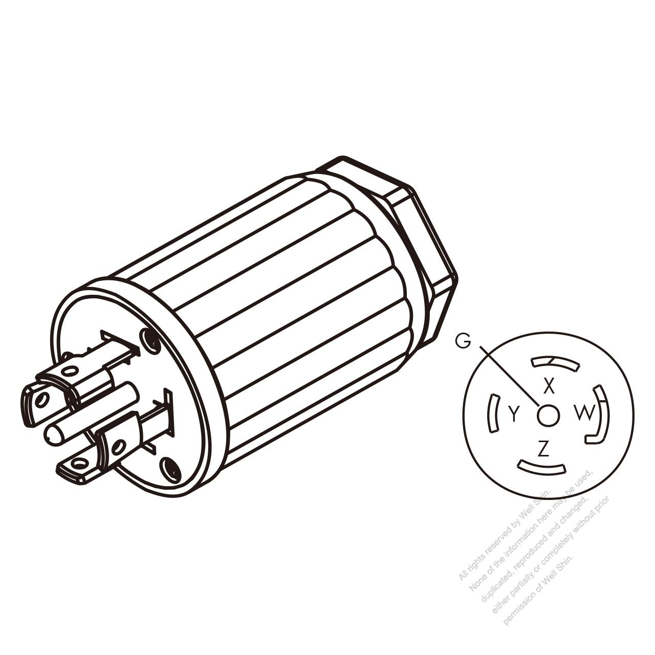 3 Pin Plug Wiring Diagram Usa