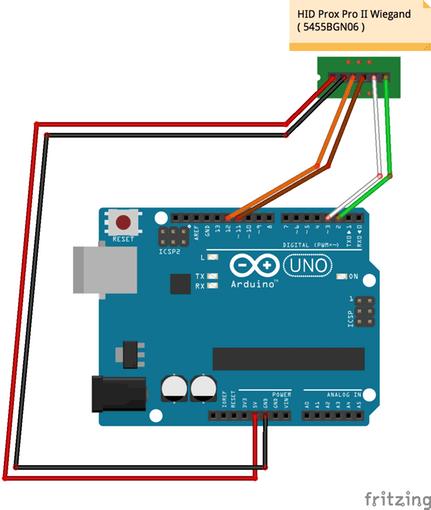 Magnificent Hid Prox Rfid To Arduino Arduino Project Hub Wiring Cloud Icalpermsplehendilmohammedshrineorg