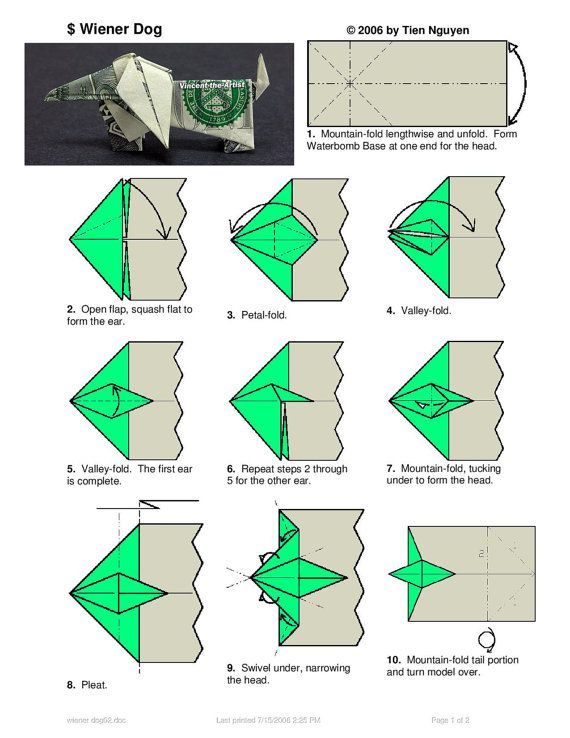 Money Origami butterfly | Paper Origami Guide | 738x570