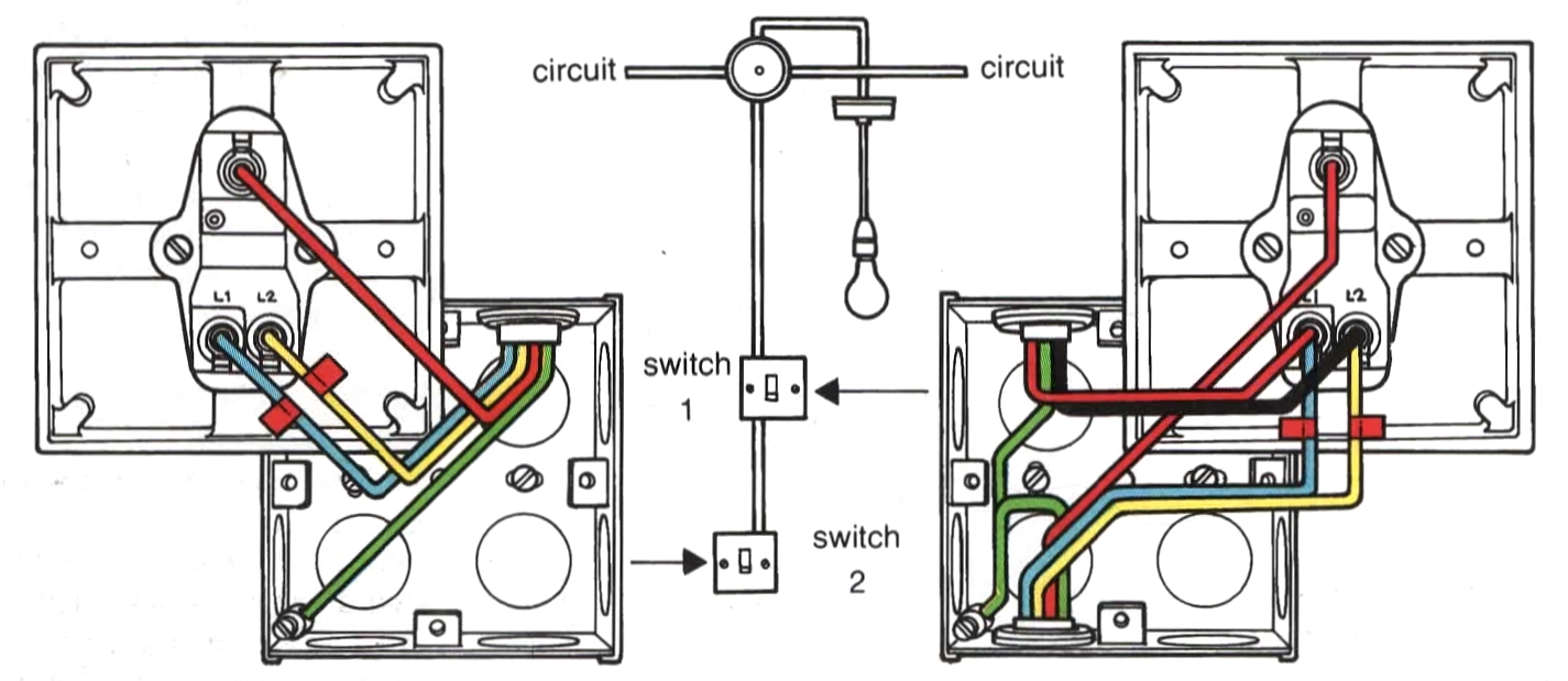 Awesome 2 Switch 1 Light Wiring Diagram Basic Electronics Wiring Diagram Wiring Cloud Eachirenstrafr09Org