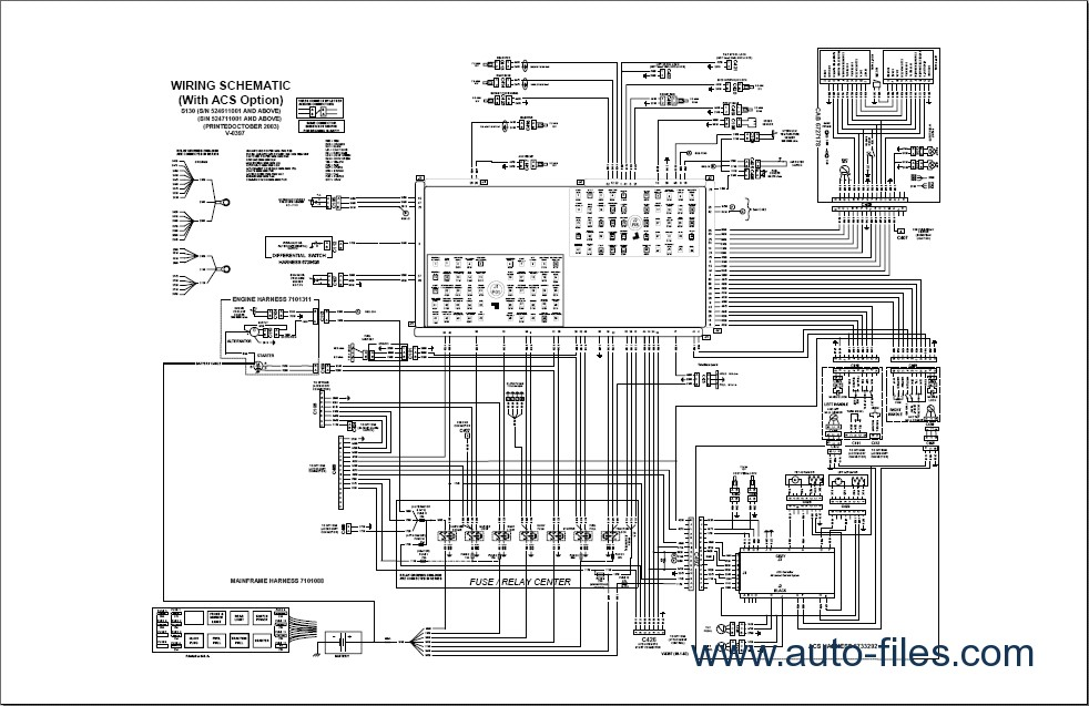 bobcat mower wiring diagrams dh 6594  bobcat attachment wiring diagrams wiring harness wiring  wiring diagrams wiring harness wiring