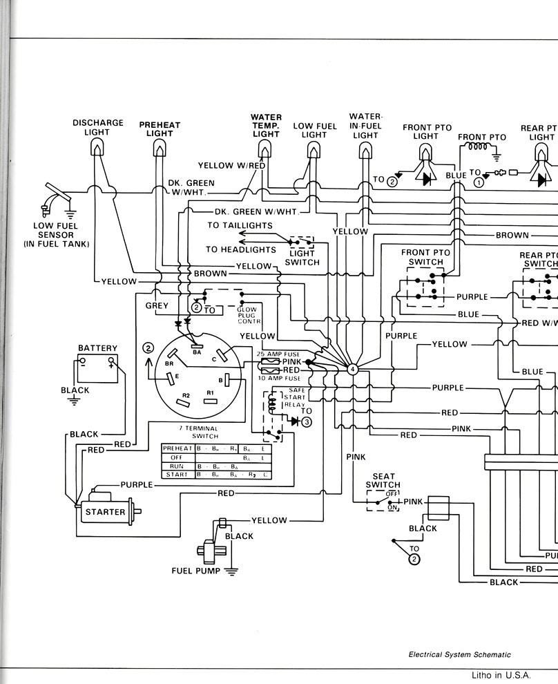 Eo 8434  Tractor Wiring Diagram Also 5130 Case Ih Tractor