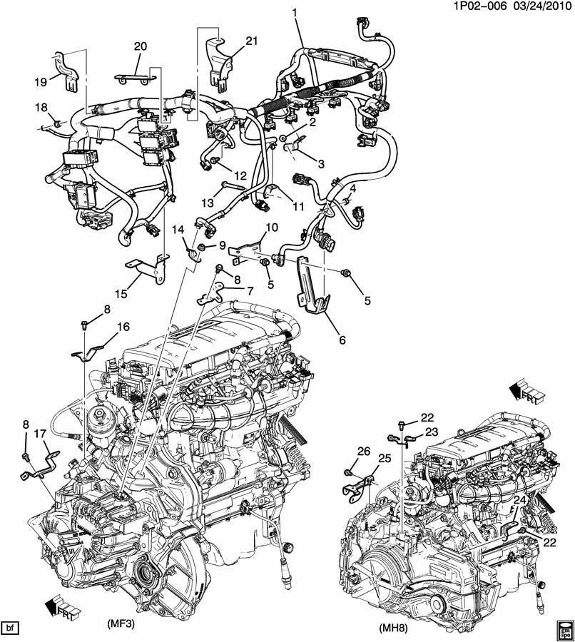 Bs 3187 2012 Chevy Cruze Engine Wiring Diagram Schematic Wiring