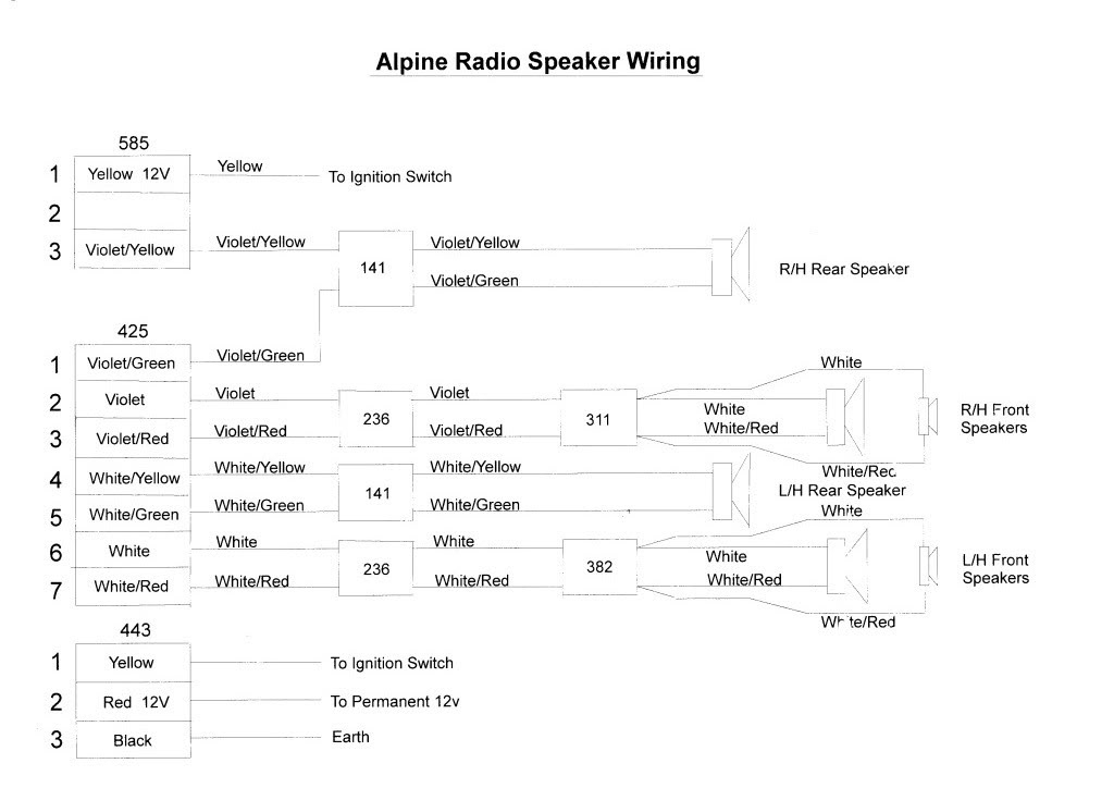 Ry 6846 Thread Speaker Wiring Diagram If Anyone Is Interested In Upgrading Free Diagram