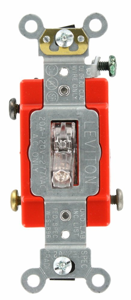 Leviton Single Pole Switch Pilot Light Wiring Diagram