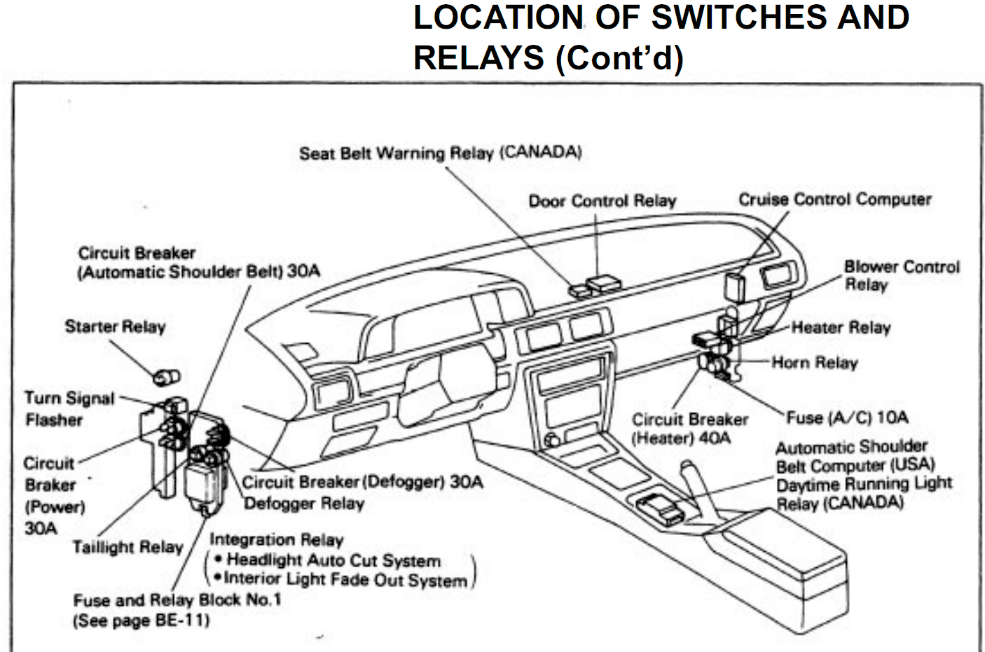 1996 Toyota Camry Window Wiring Diagram Wire To Light Photocell Diagram Caprice Tukune Jeanjaures37 Fr