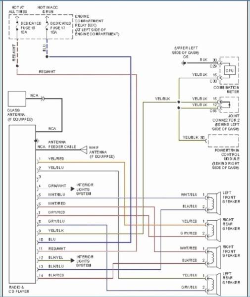 2000 Mitsubishi Mirage Wiring Diagram