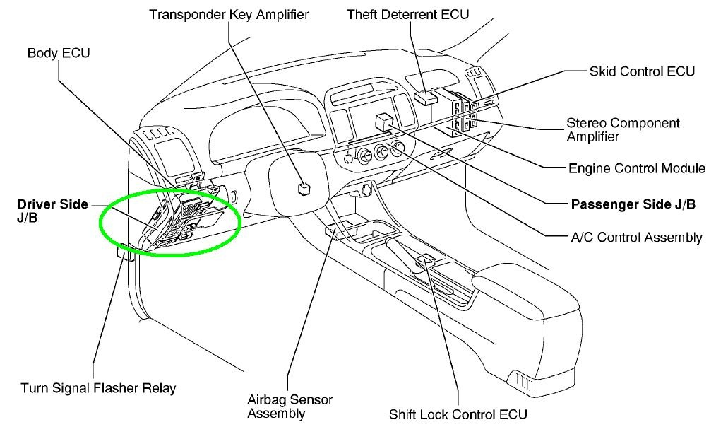 2002 toyota camry fuse box guide xc 3164  2005 camry fuse box diagram schematic wiring  camry fuse box diagram schematic wiring