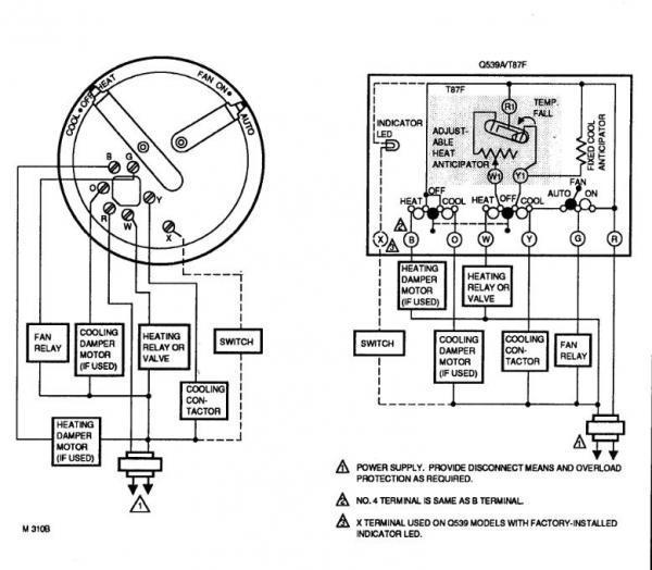 Awe Inspiring T87F Honeywell 2Wire Diagram Wiring Diagram Database Wiring Cloud Apomsimijknierdonabenoleattemohammedshrineorg