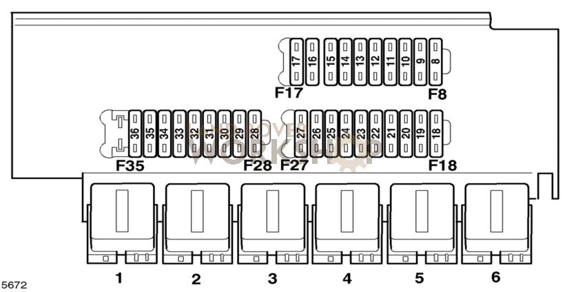 Phenomenal Land Rover Defender Td5 Fuse Box Diagram Basic Electronics Wiring Wiring Cloud Licukshollocom