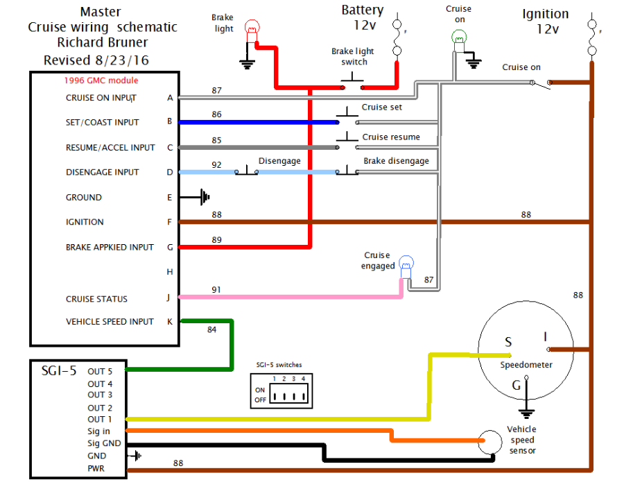 Ap900 Cruise Control Wiring Diagram