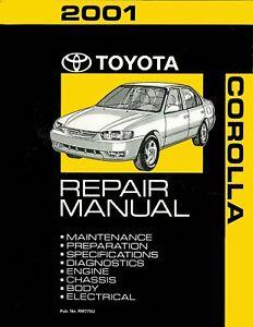 Bishko OEM Maintenance Owner/'s Manual Bound for Toyota Corolla 1982