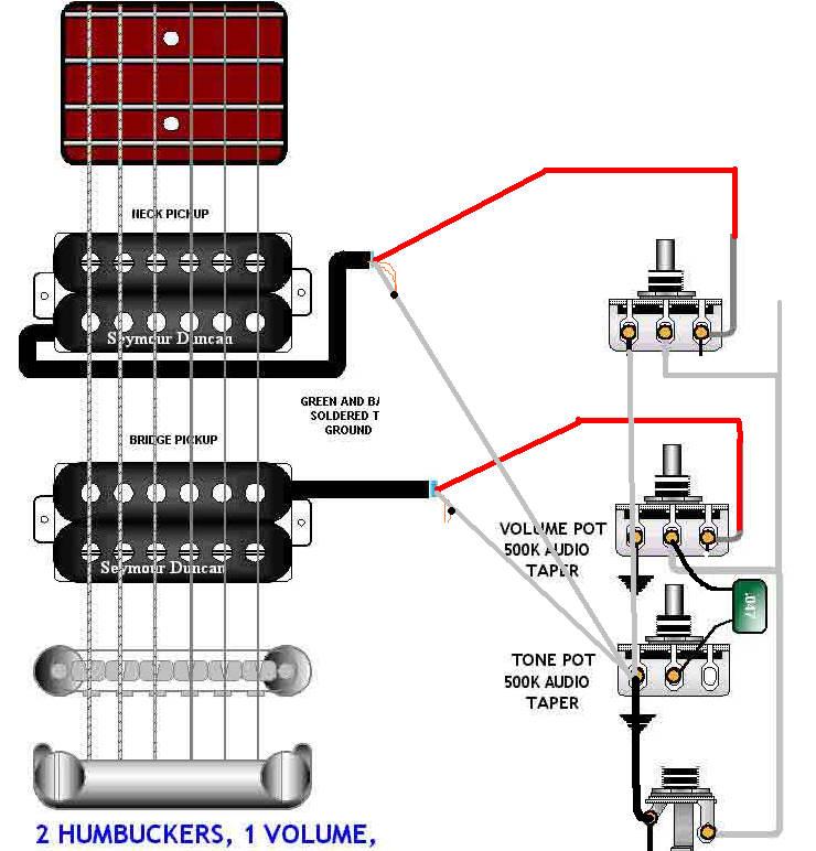 tk2993 guitar wiring also volume 1 tone pickup wiring