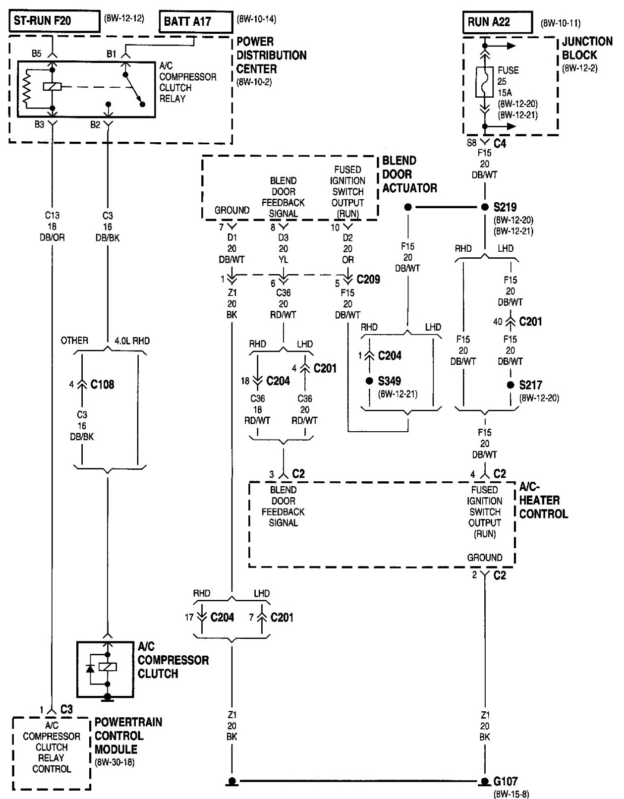 1992 Jeep Wrangler Yj Wiring Diagram