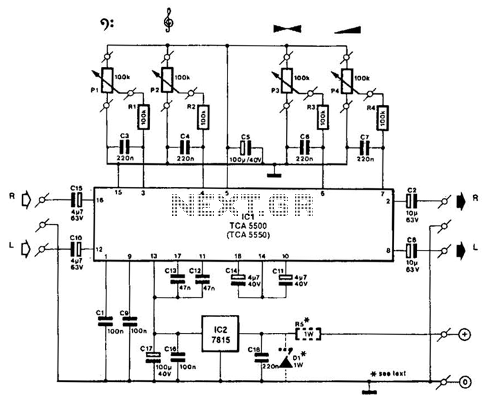 Cool Stereo Preamplifier With Tone Control Basic Electronics Wiring Diagram Wiring Cloud Monangrecoveryedborg