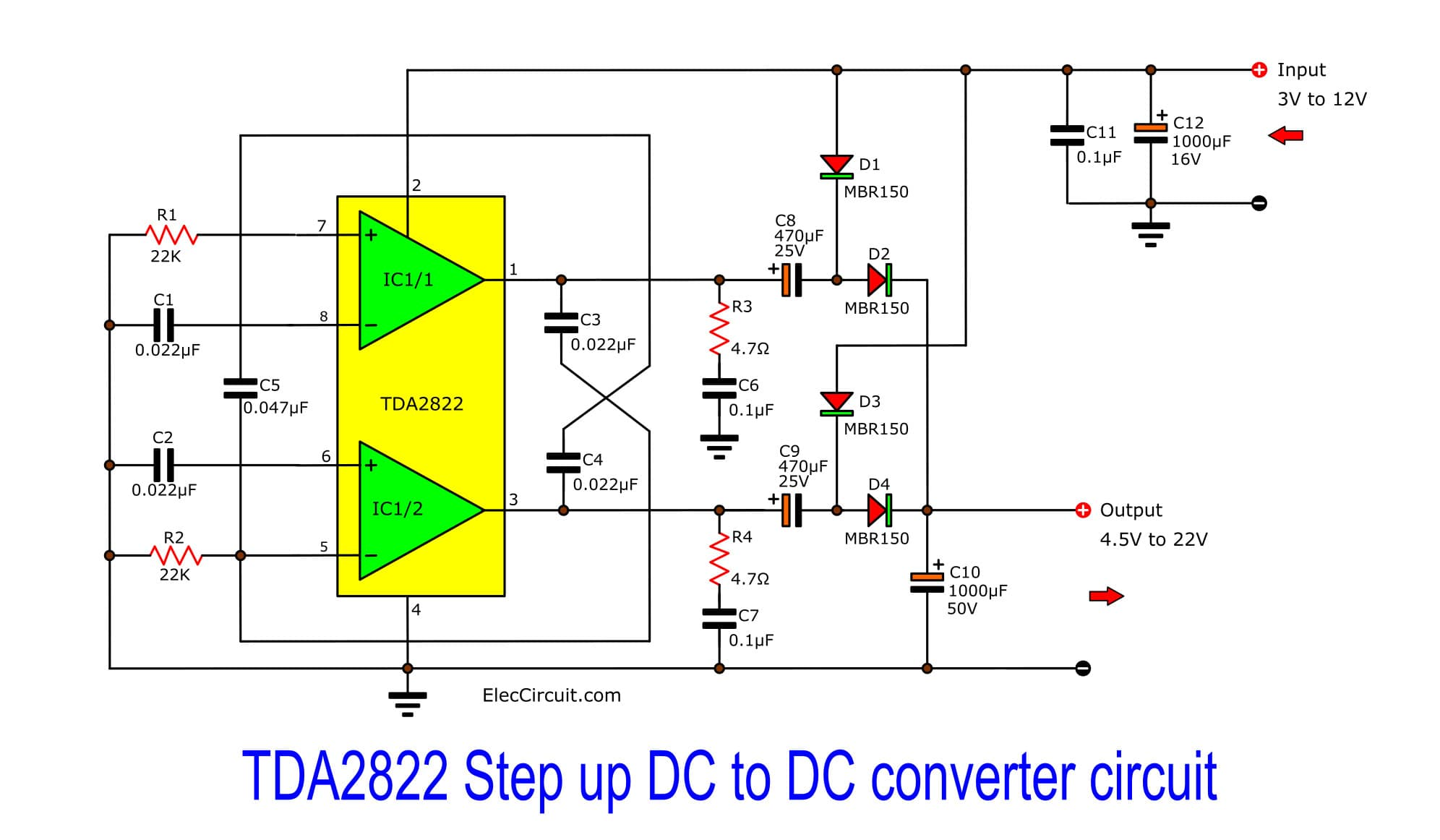 Excellent 24V To 12V Power Converter On Dc To Buck Converter Schematic Wiring Cloud Gufailluminateatxorg