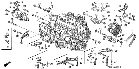 FL_3875] 1998 Civic Engine DiagramMecad Trons Mohammedshrine Librar Wiring 101