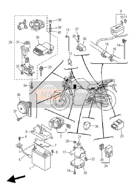 2006 Yamaha Fz6 Wiring Diagram Gy6 150cc Go Kart Wiring Harness Kit Fusebox 1997wir Jeanjaures37 Fr