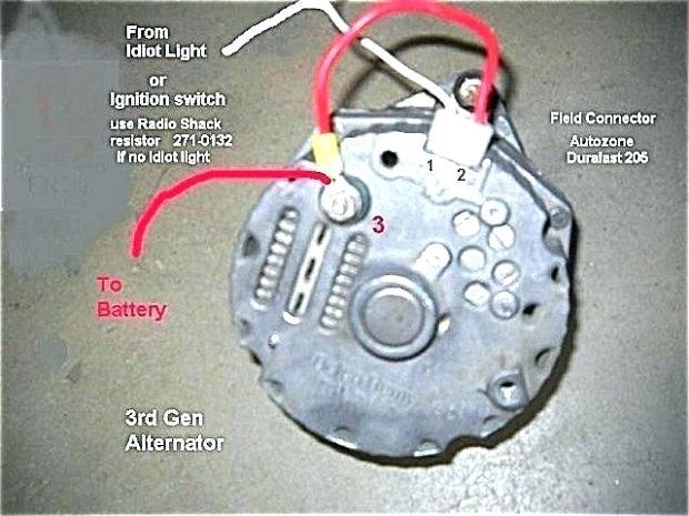 Chevy One Wire Alternator Wiring | wiring diagram have | Chevy 1 Wire Alternator Diagram |  | tenutasantelisabetta.it
