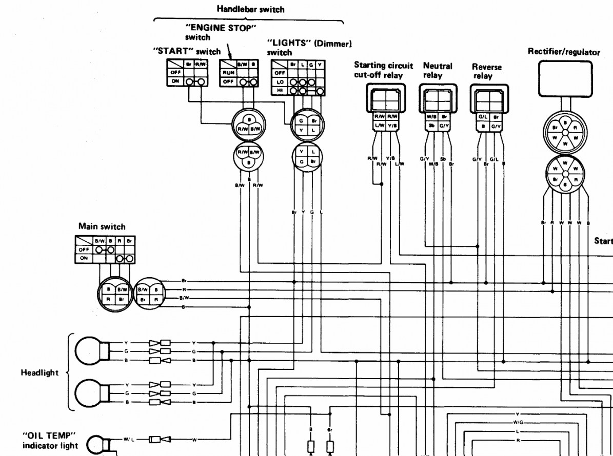 yamaha kodiak wiring diagram free download schematic wiring harness for yamaha kodiak wiring diagram data  wiring harness for yamaha kodiak