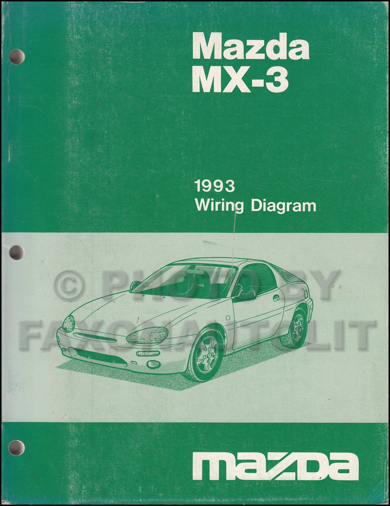 1992 Mazda Mx3 Wiring Diagram