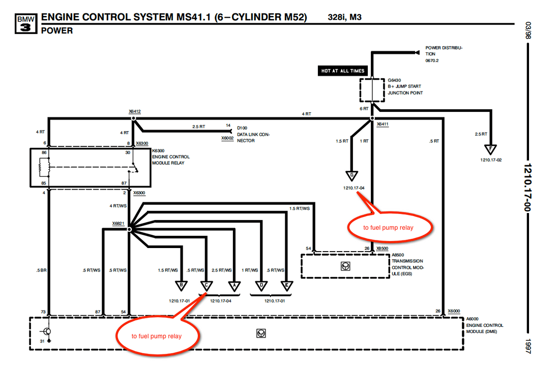E36 Ignition Coil Wiring Diagram