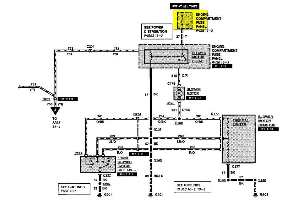 Zd 9290  Ford Econoline E350 Blower Wiring Schematic