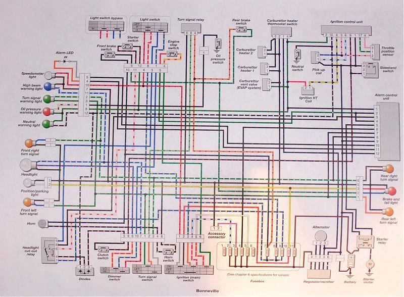 Phenomenal Triumph T100 Wiring Diagram Basic Electronics Wiring Diagram Wiring Cloud Dulfrecoveryedborg