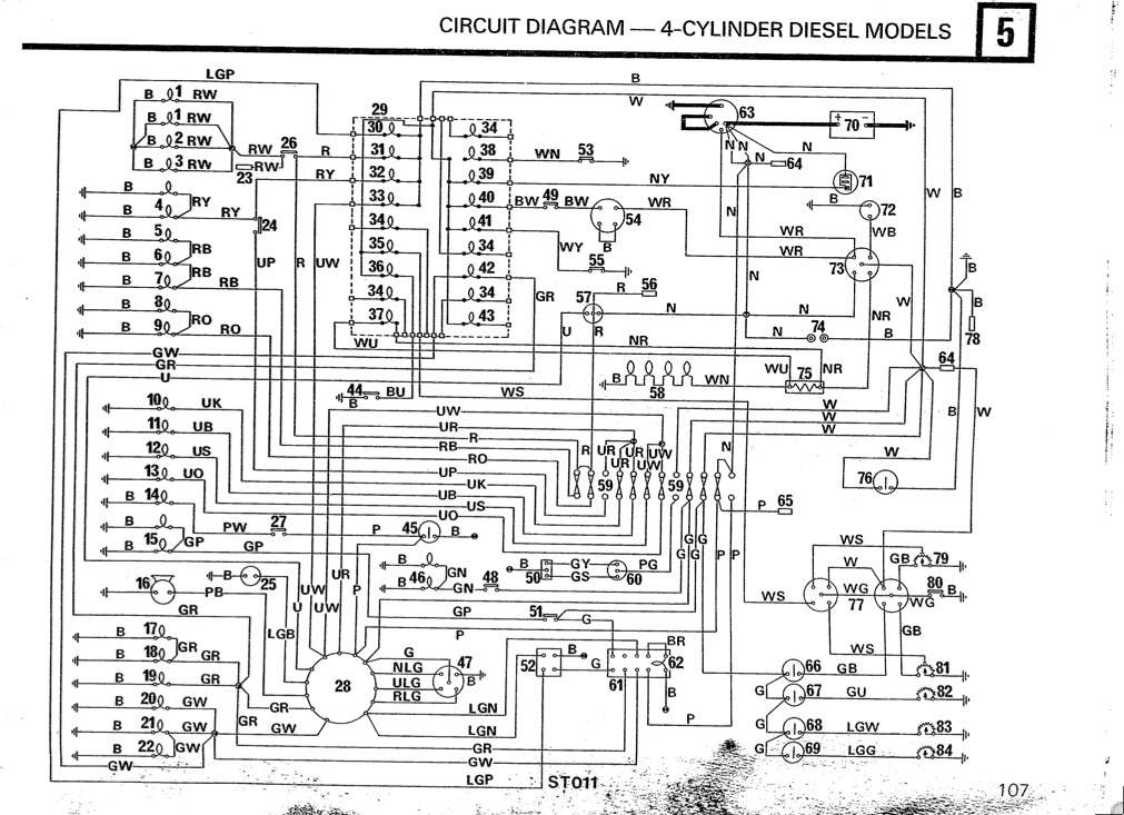 1996 Land Rover Defender 110 Wiring Diagram