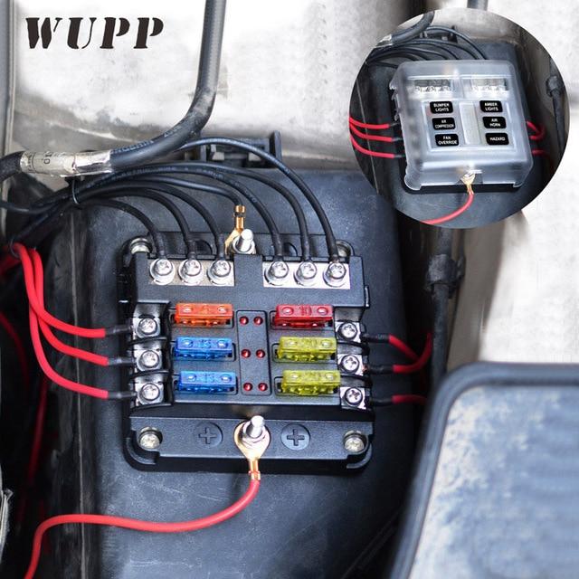 Cool Wupp Independent Car Fuse Holder Pbt Pc Fuse Box Fog Lights Car Wiring Cloud Timewinrebemohammedshrineorg