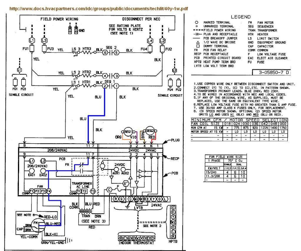 Daikin Split Ac 1 Ton Wiring Diagram