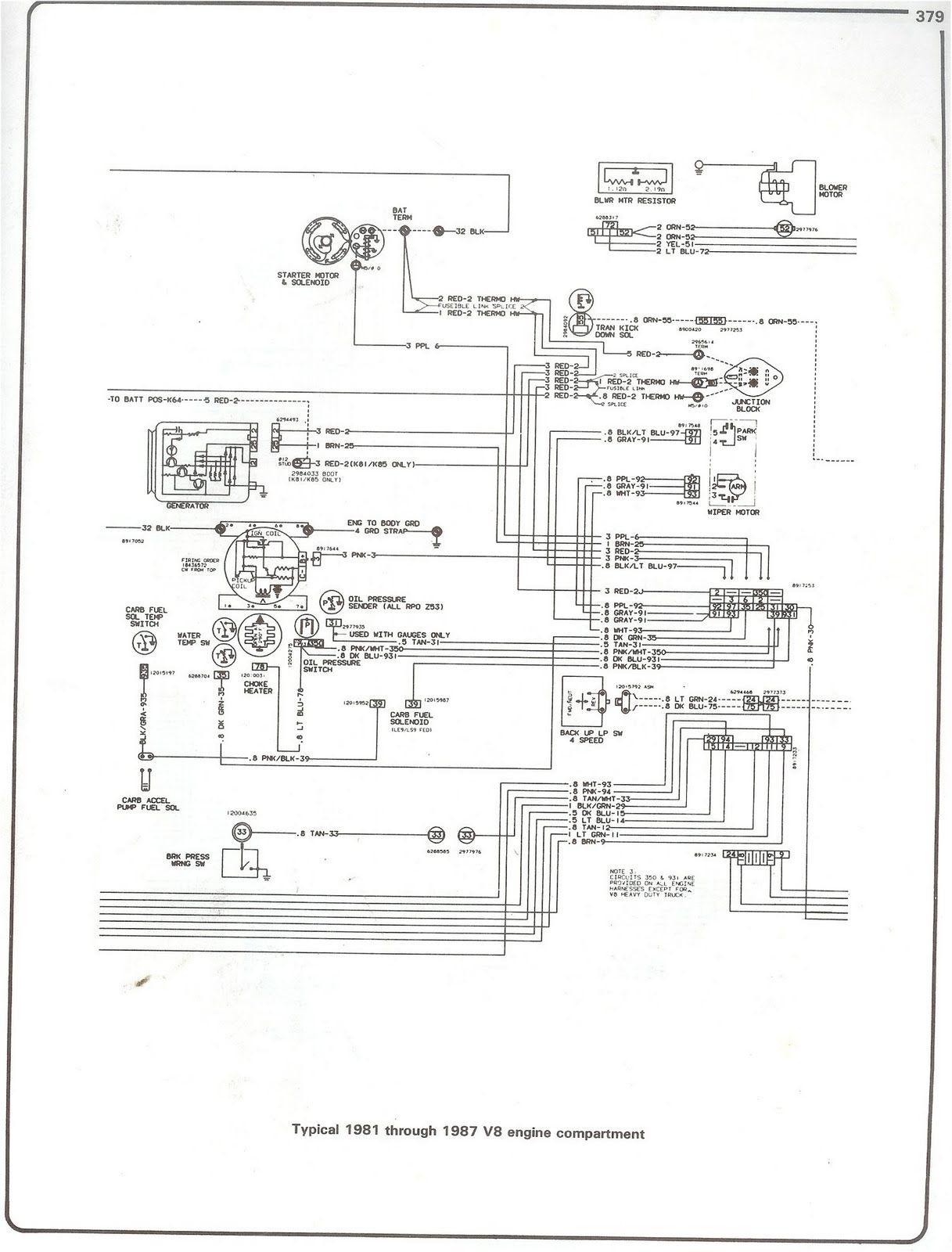 Marvelous 1987 Chevy Wiring Schematic Basic Electronics Wiring Diagram Wiring Cloud Intelaidewilluminateatxorg