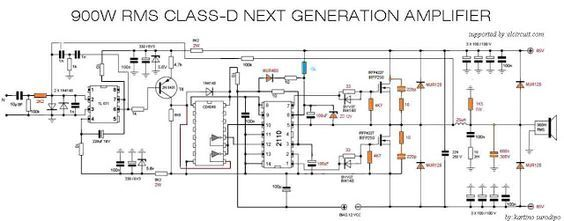 Amazing 900W Class D Next Generation Power Amplifier In 2019 Electronics Wiring Cloud Eachirenstrafr09Org