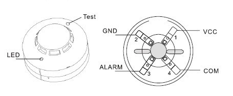 smoke detector wire diagram zh 0817  smoke detector circuit diagram 2wire smoke detector  circuit diagram 2wire smoke detector