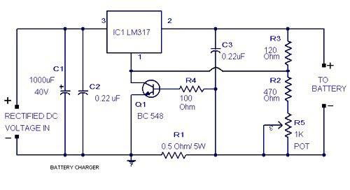Enjoyable Universal Battery Charger Electronic Project Using Lm317 Basic Wiring Cloud Monangrecoveryedborg