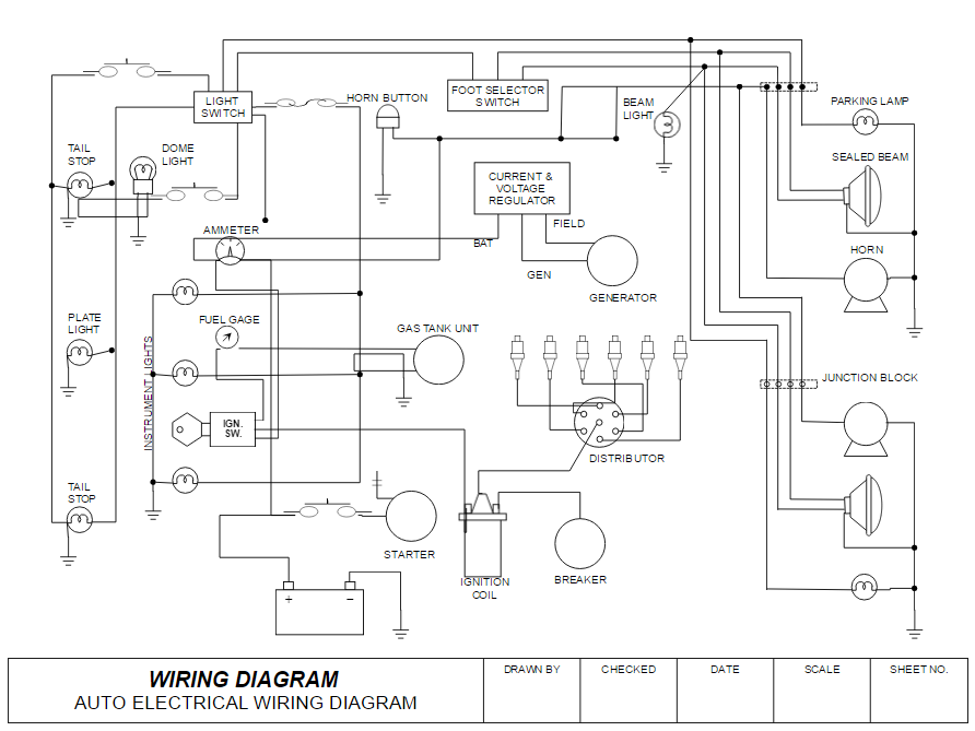 Stupendous How To Draw Electrical Diagrams And Wiring Diagrams Wiring Cloud Faunaidewilluminateatxorg