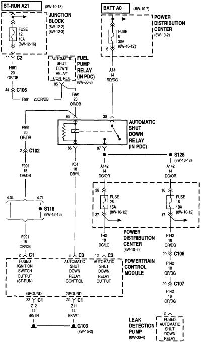 2001 Jeep Cherokee Sport Power Window Wiring Diagram