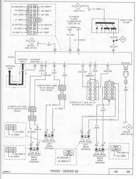 1990 Jeep Cherokee Pioneer Wiring Diagram