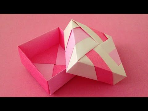 Triangular Origami Box Tutorial - Gift Box - Paper Kawaii | 360x480