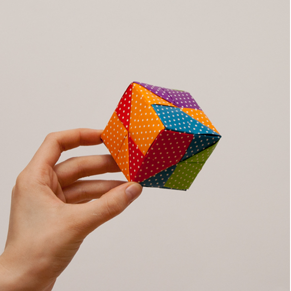 Origami Cube Ring Tutorial - YouTube | 600x600