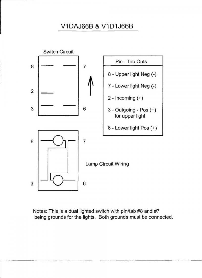 daystar rocker switch wiring diagram wc 8646  thread wiring w relay and daystar rocker switch schematic  relay and daystar rocker switch