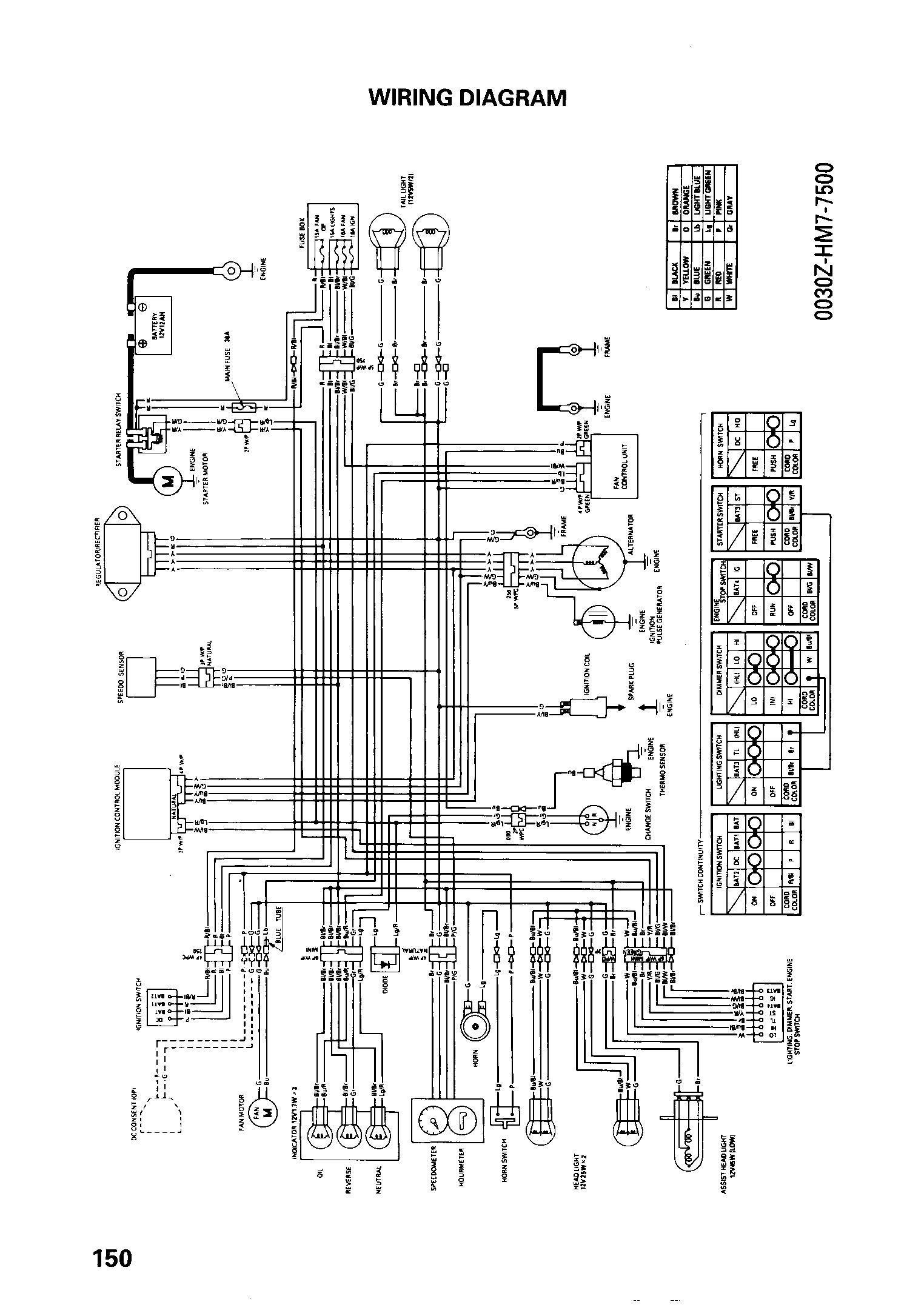 Honda Trx450er Wiring Harness - 1992 Explorer Fuse Box Layout for Wiring  Diagram Schematics | Trx 450 Wiring Diagram |  | Wiring Diagram Schematics