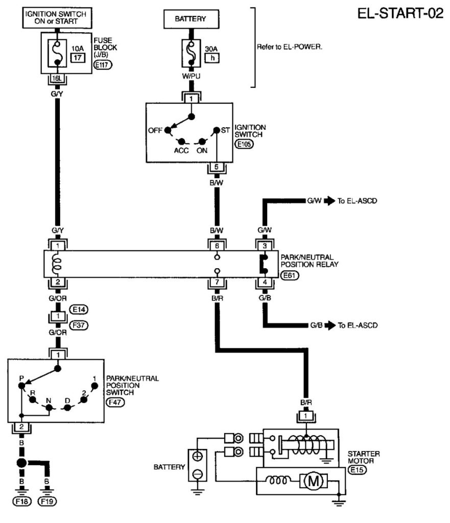 99 Maxima Wiring Diagram