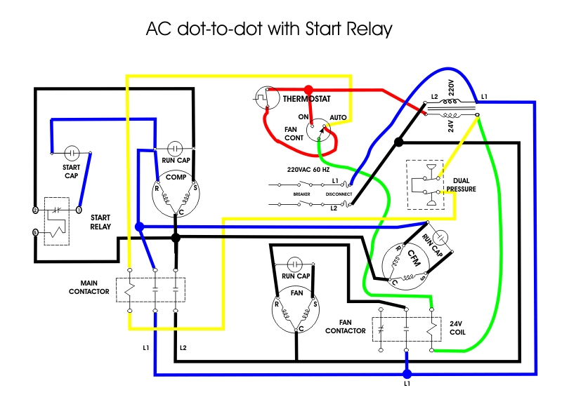 Fan Relay Wiring Diagram Hvac