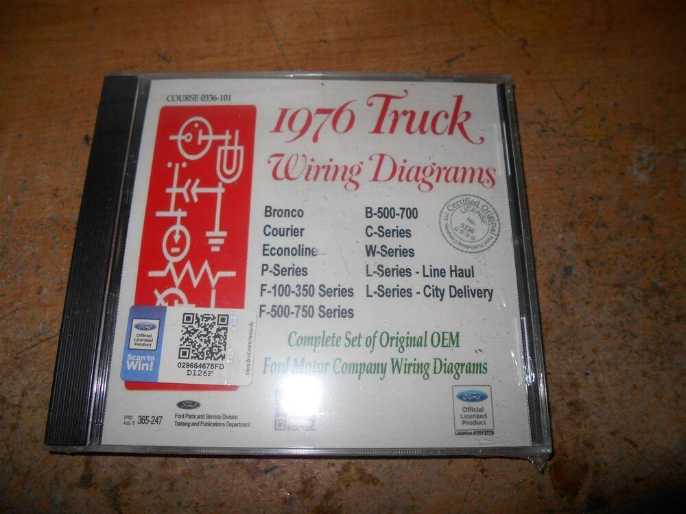 Astonishing 1976 Ford F500 750 B C W L Series Trucks Factory Wiring Diagrams Wiring Cloud Genionhyedimohammedshrineorg